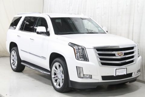 Certified Pre-Owned 2018 Cadillac Escalade Base